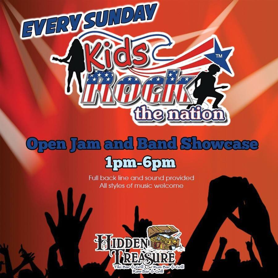 Kids Rock the Nation Open Jam Southern Fried Chill – Rock of
