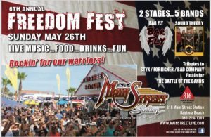 6th Annual Freedom Fest @ Main Street Station