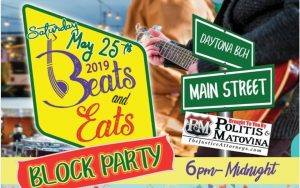 Beats and Eats Free Block Party @ Daytona Beach Main Street Merchants Association