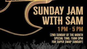 Sunday Jam with Sam @ Saints and Sinners